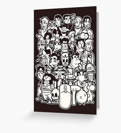 Point and Click Greeting Card