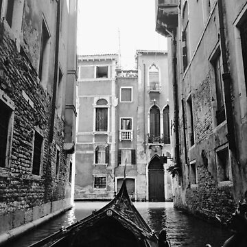 Venice In A Gondola by BackpackPhoto