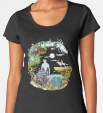 Ghibli Tribute Women's Premium T-Shirt