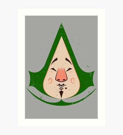 Tingly Assassin Art Print