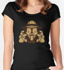 Hello Chip Women's Fitted Scoop T-Shirt