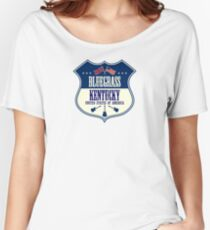 Enjoy The Bluegrass Music Kentucky Women's Relaxed Fit T-Shirt