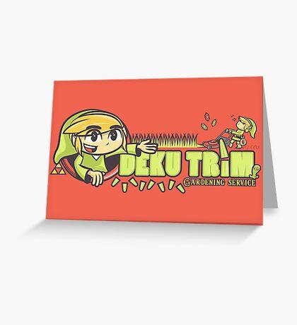 Deku Trim Greeting Card