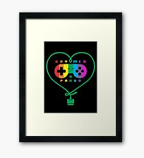 Gaymer & Proud Framed Print