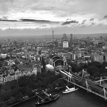 London from The Eye by BackpackPhoto