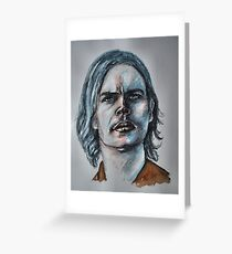 Matthew Gray Gubler-Featured in Painters Universe Group Greeting Card