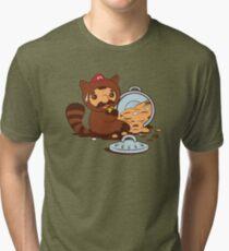 The Tanooki truth Tri-blend T-Shirt