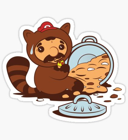 The Tanooki truth Sticker