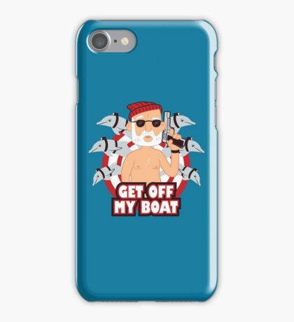 Get off my Boat iPhone Case/Skin