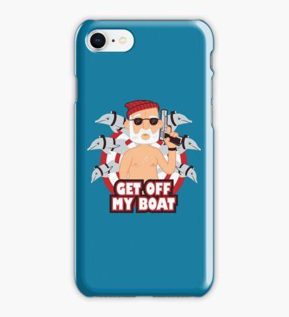 Get off my Boat iPhone Case/Skin