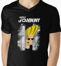 Here's johnny Men's V-Neck T-Shirt