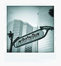 Montreal Photographic Print