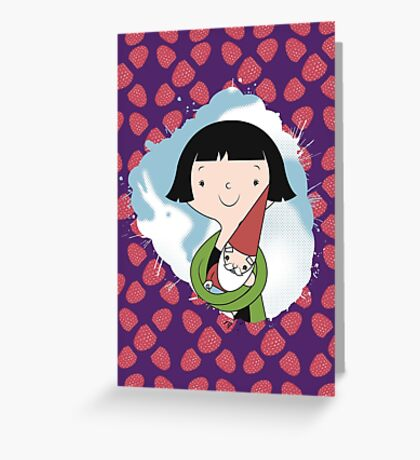 Help People not Gnomes Greeting Card