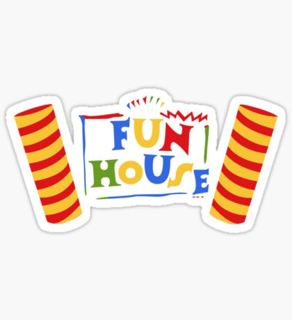 Fun House Sticker