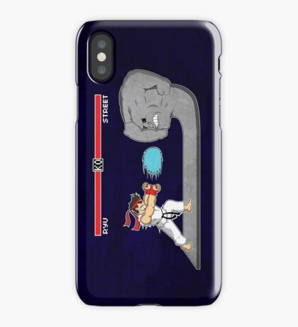 Fighter Of Streets iPhone Case