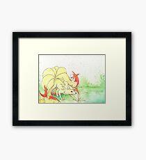 Ninetales Framed Print