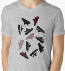 Yeezy 350 v2 Men's V-Neck T-Shirt