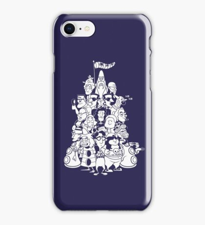 Day at the Mansion iPhone Case/Skin