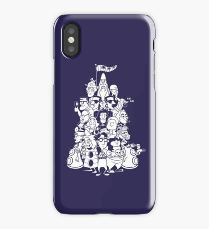 Day at the Mansion iPhone Case