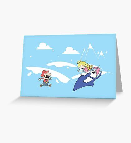 Mario's Adventure Greeting Card