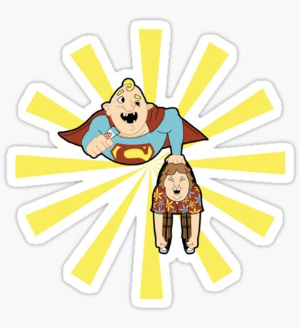 Super Sloth Sticker