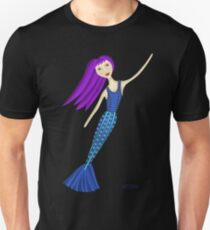 Sweet Floating Mermaid Unisex T-Shirt
