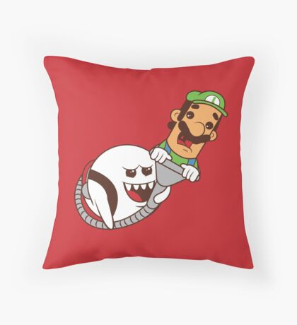 Boo's revenge Throw Pillow