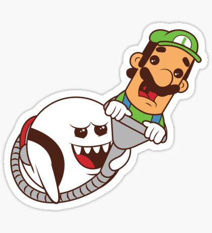 Boo's revenge Sticker