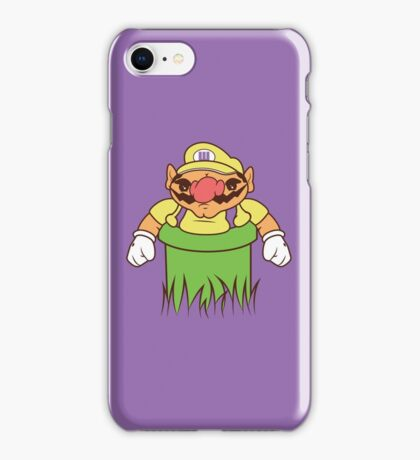 You're going to need a bigger warp pipe iPhone Case/Skin