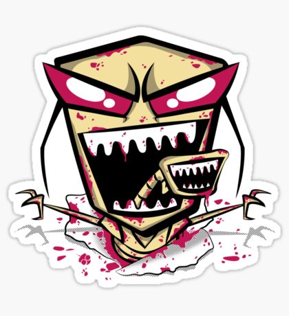 Chest burst of Doom Sticker