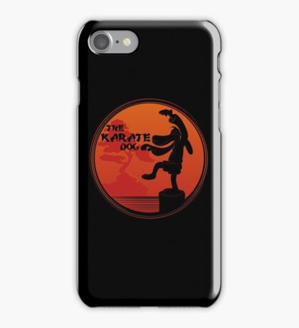 The Karate Dog  iPhone Case/Skin