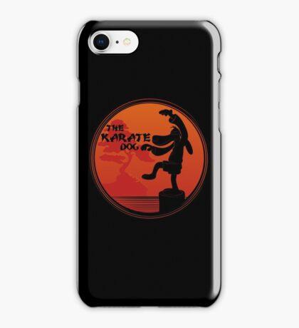 The Karate Dog  iPhone Case/Skin