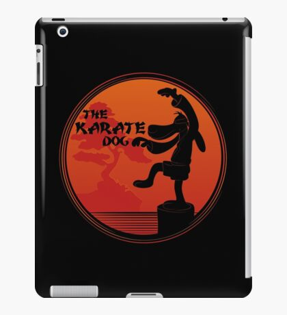 The Karate Dog  iPad Case/Skin
