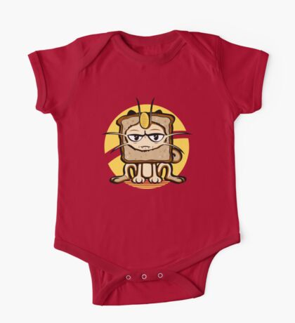 Meowth Breading Kids Clothes