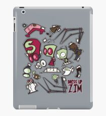 Dress up Zim iPad Case/Skin