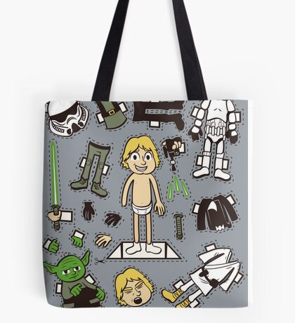 Dress up Luke Tote Bag