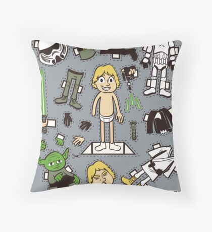 Dress up Luke Throw Pillow