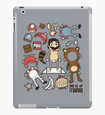 Dress up Mario iPad Case/Skin