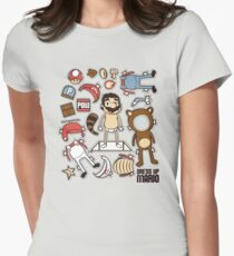 Dress up Mario Women's Fitted T-Shirt