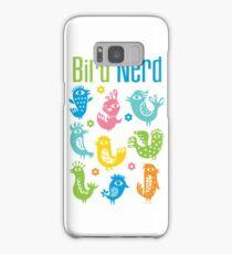 Bird Nerd - white Samsung Galaxy Case/Skin