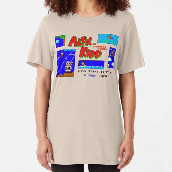 Alex Kidd Slim Fit T-Shirt