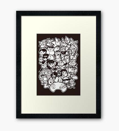 Mega 16 bit Framed Print
