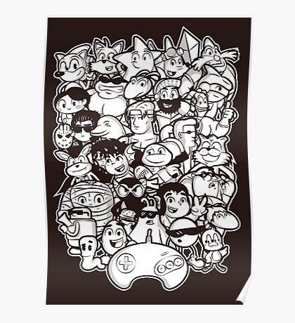 Mega 16 bit Poster