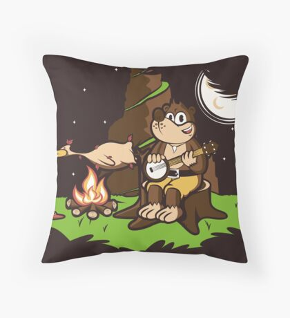 Roast Kazooie Throw Pillow