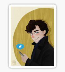 Sherlock Holmes on Twitter Sticker