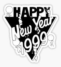 Happy New Year 1999 Sticker