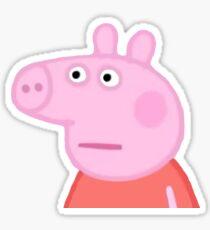 Peppa Pig Meme Stickers Redbubble