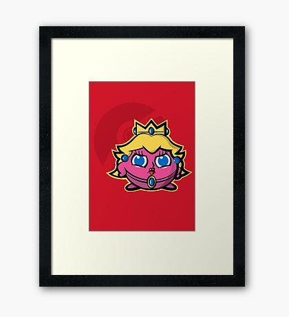 Peachypuff Framed Print