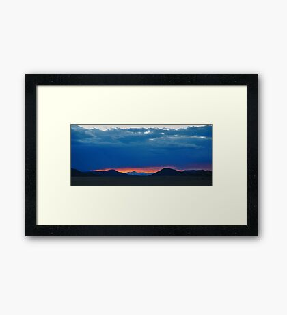 A Moment Captured Framed Print