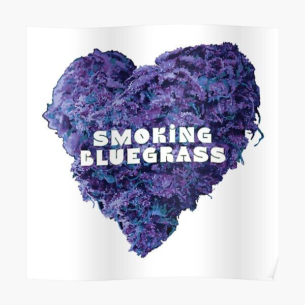I love smoking bluegrass Poster